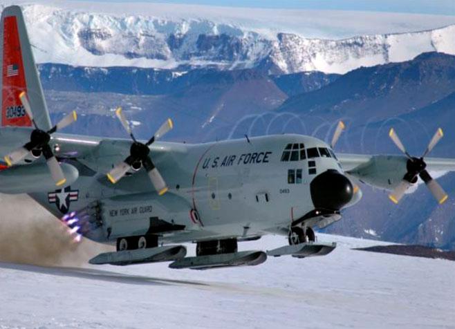 snow-landing